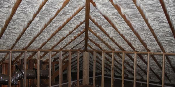 finished attic foam & Unvented Attics - A Better Attic System - Creative Conservation